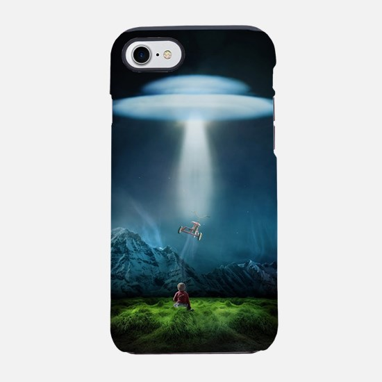 Tricycle Abduction iPhone 7 Tough Case