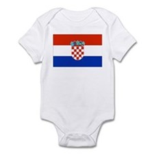 Croatian Flag Infant Bodysuit