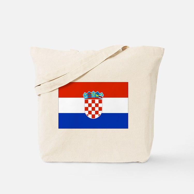 Croatian Flag Tote Bag