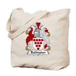 Babington Family Crest  Tote Bag
