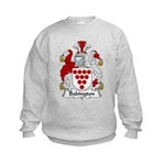 Babington Family Crest  Kids Sweatshirt