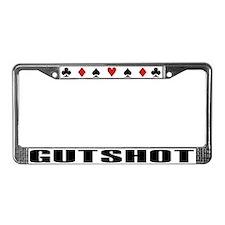 Funny Holdem License Plate Frame