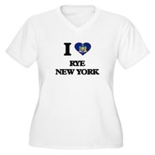 I love Rye New York Plus Size T-Shirt