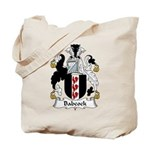 Babcock Family Crest  Tote Bag