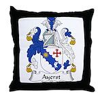 Ayerst Family Crest Throw Pillow