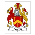 Austin Family Crest Small Poster