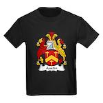 Austin Family Crest Kids Dark T-Shirt