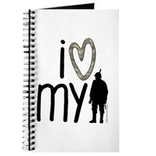 I Heart My Soldier Journal
