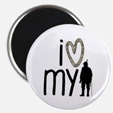 """I Heart My Soldier 2.25"""" Magnet (10 pack)"""