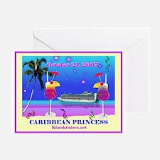Caribbean Princess - 10-21-07 Greeting Card