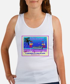 Caribbean Princess - 10-21-07 Women's Tank Top