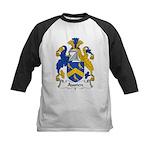 Austen Family Crest Kids Baseball Jersey