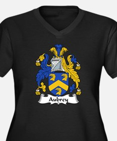 Aubrey Family Crest Women's Plus Size V-Neck Dark