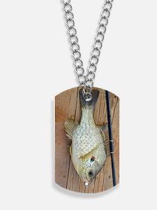 Shell Cracker. Red Ear Fish Retro Tuna RC Dog Tags