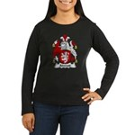 Atwood Family Crest Women's Long Sleeve Dark T-Shi