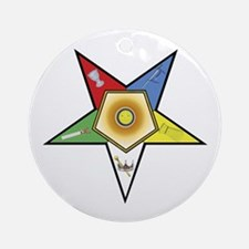 OES Associate Matron Ornament (Round)