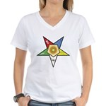 OES Associate Matron Women's V-Neck T-Shirt
