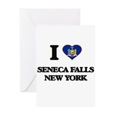 I love Seneca Falls New York Greeting Cards