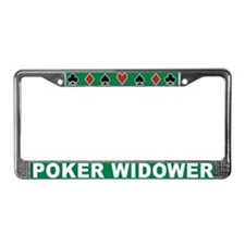 Unique Poker License Plate Frame