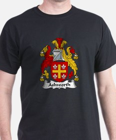 Ashworth Family Crest  T-Shirt