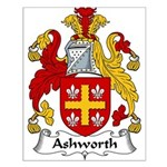 Ashworth Family Crest  Small Poster