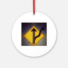 MGTOW Logo-5 Round Ornament