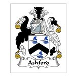 Ashford Family Crest Small Poster