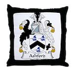 Ashford Family Crest Throw Pillow