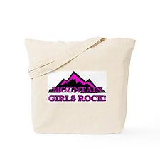 Mountain girls rock Tote Bag