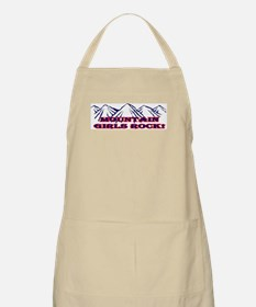 Mountain girls rock II BBQ Apron