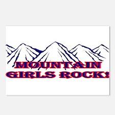 Mountain girls rock II Postcards (Package of 8)
