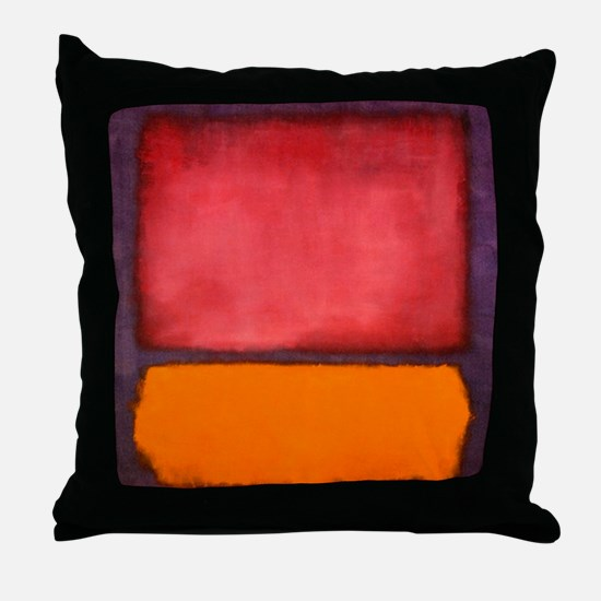 ROTHKO ORANGE RED PURPLE Throw Pillow