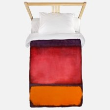 ROTHKO ORANGE RED PURPLE Twin Duvet