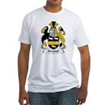 Ascough Family Crest  Fitted T-Shirt