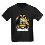 Ascough Family Crest  Kids Dark T-Shirt