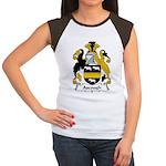 Ascough Family Crest  Women's Cap Sleeve T-Shirt