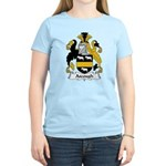 Ascough Family Crest  Women's Light T-Shirt