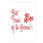 Bouquet Groom's Best Friend Postcards (Package of
