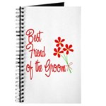 Bouquet Groom's Best Friend Journal