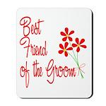 Bouquet Groom's Best Friend Mousepad