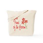 Bouquet Groom's Best Friend Tote Bag