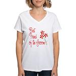 Bouquet Groom's Best Friend Women's V-Neck T-Shirt
