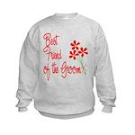 Bouquet Groom's Best Friend Kids Sweatshirt