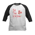 Bouquet Groom's Best Friend Kids Baseball Jersey