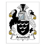 Arundell Family Crest Small Poster