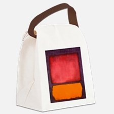 ROTHKO ORANGE RED PURPLE Canvas Lunch Bag