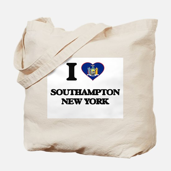 I love Southampton New York Tote Bag