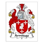 Armitage Family Crest Small Poster