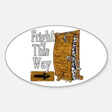 Fright This Way Decal