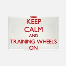 Keep Calm and Training Wheels ON Magnets